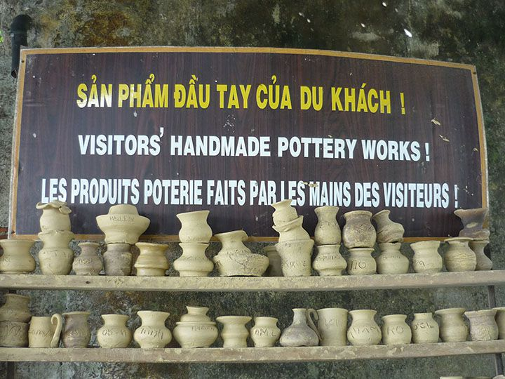 Thanh Ha pottery village Hoi An
