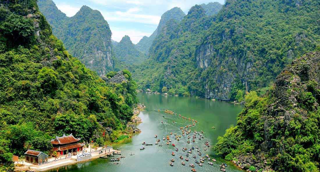 Trang An scenic landscape