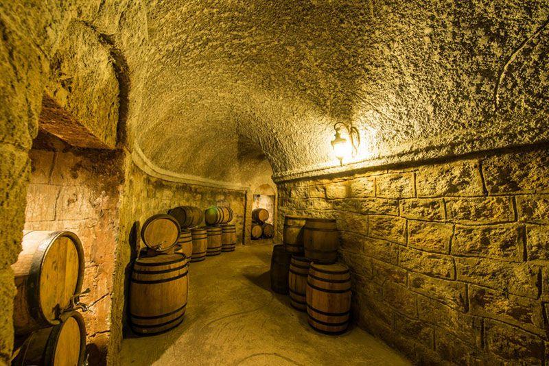 wine cellar ba na hills