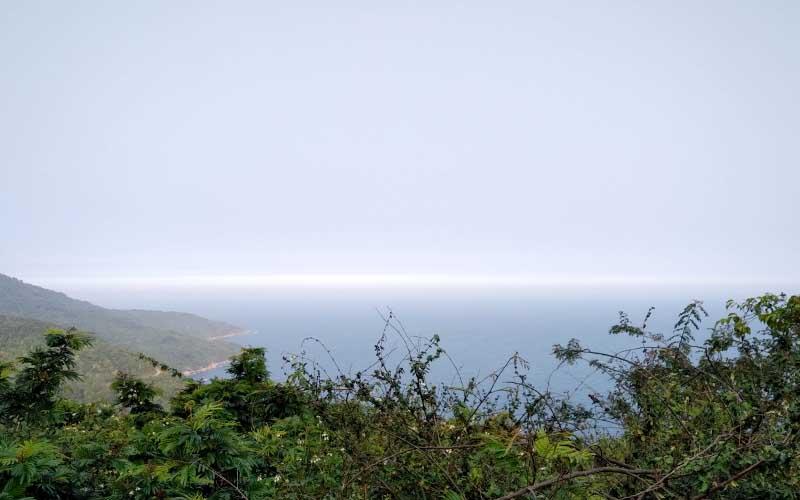 trip to ban co peak, son tra