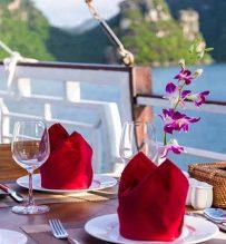 Amazing Sails Open air restaurant