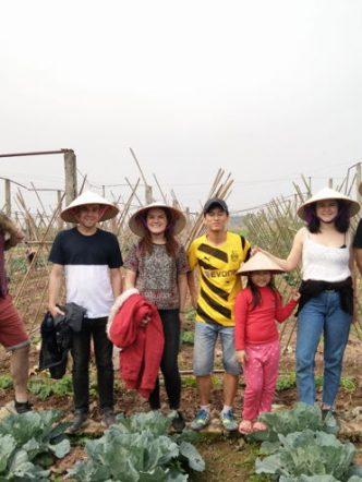 farming with local in Hanoi