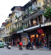 French quarter Hanoi