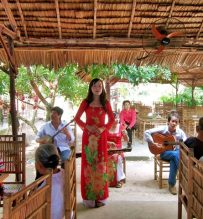 traditional music perfomance mekong tour