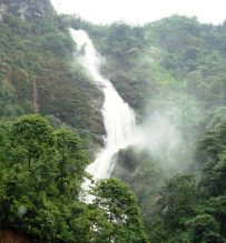 Sapa silver waterfall