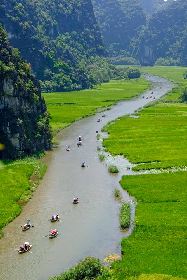 boat trip in tam coc