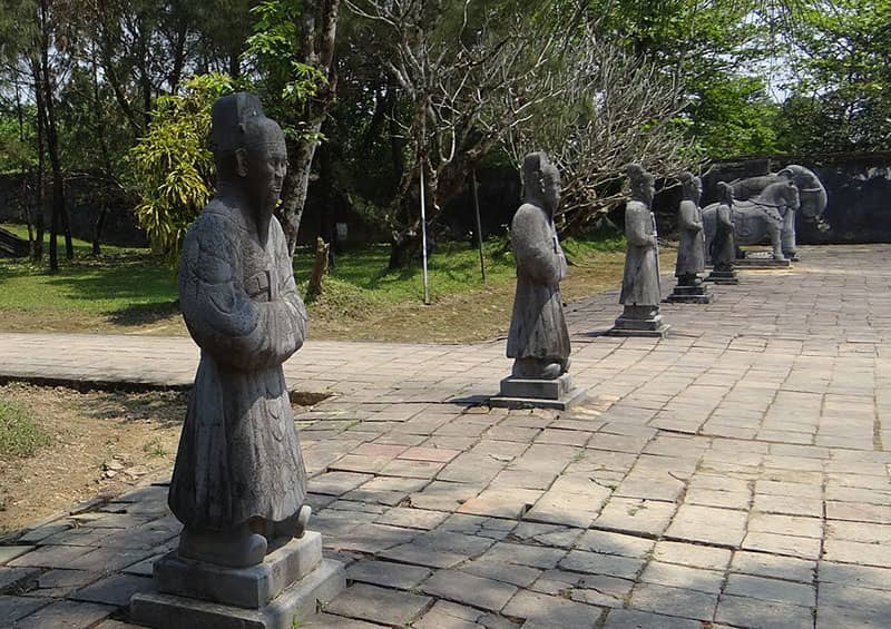 Minh Mang tomb Hue