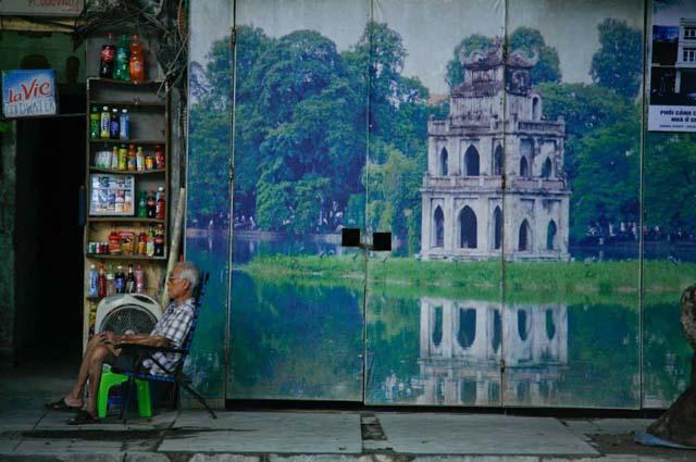 Old street Hanoi