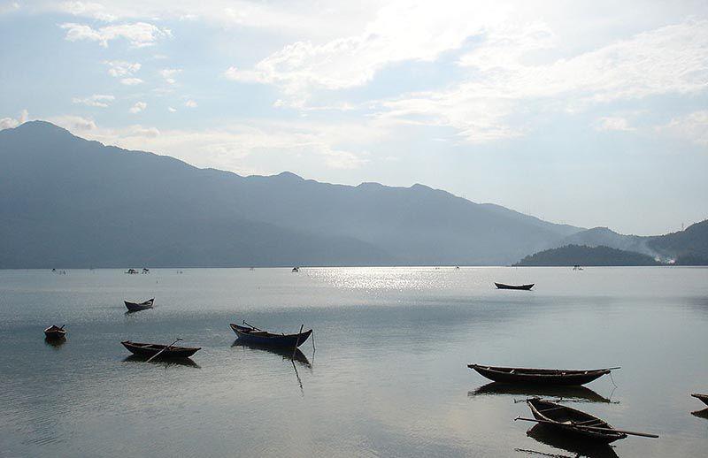 tam giang lagoon in hue