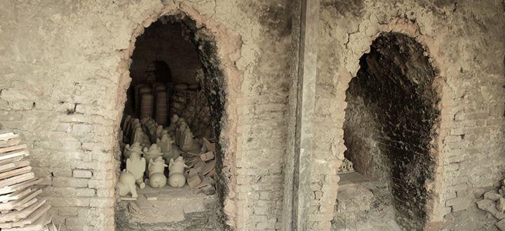 Kiln at Thanh Ha pottery village Hoi An