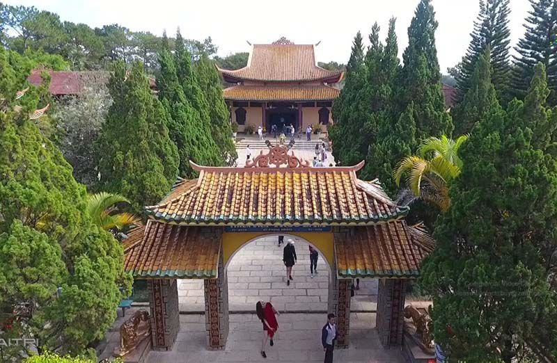 truc lam monastery da lat